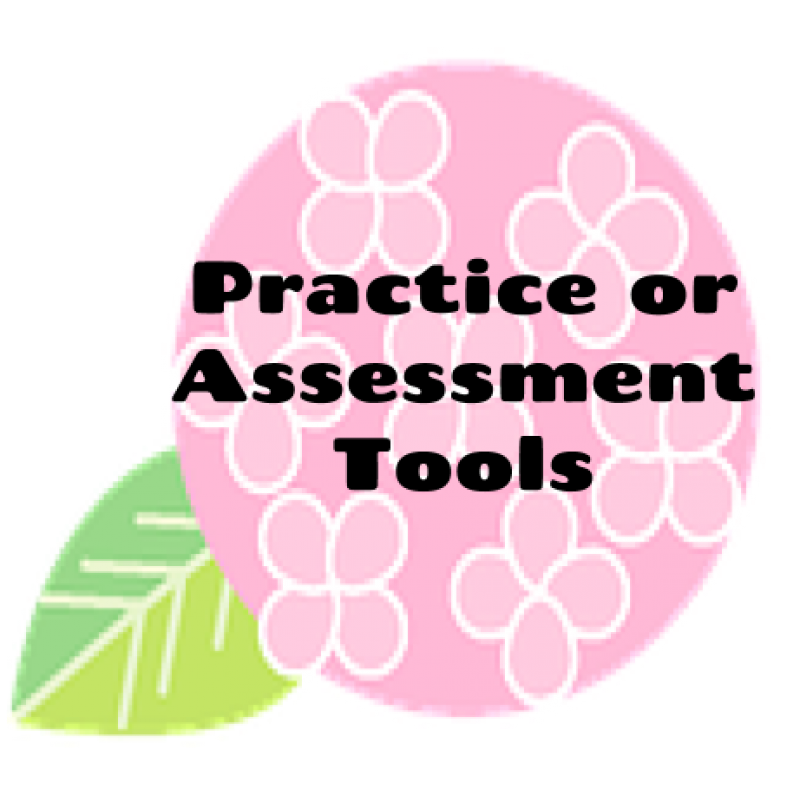 Practice or Assessment Tools